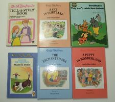 6 Bks by Enid Blyton, HC, The Enchanted Sea, They Can't Catch Brer Rabbit