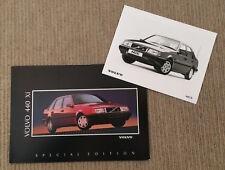 Volvo 440 Xi Special Edition Brochure + Press Photograph
