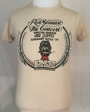 Rod Stewart 1977 Foot Loose & Fancy Free Tour Air Supply Calgary Shirt Size M