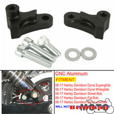 """Aluminum 1.75"""" Drop Lowering Kit For Harley Dyna Street Fat Bob Superglide 06-17"""
