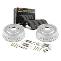 For Chevy Silverado 1500 09-13 Drum and Shoe Kit Power Stop 1-Click Daily Driver