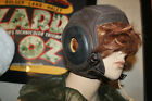 WW2 USN US Navy Leather Flight Helmet Skull Cap N288s - 21428 Slote - Klein Lrg