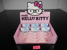 NEW & SEALED!! HELLO KITTY SOURS ~6 COLLECTIBLE TINS W/ CANDY & DISPLAY BOX~ S-4