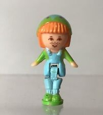 Vintage Polly Pocket Midge In Her Pendant Necklace Red Hair Doll Figure 1990 Toy