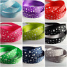 3m Ribbon - Printed Grosgrain - 16mm - Stars [Various Colours Available]