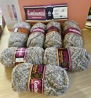 Knitting Yarn-Vintage-Wendy Continental-314-Pure New Wool-Boucle-350g-Cream-P3