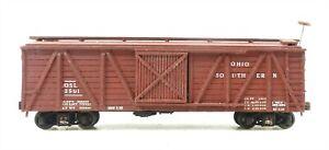 HOn3 Narrow Gauge #2501 OSL Ohio Southern Line LIVESTOCK CAR ~ T130D
