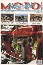CHRONIQUES MOTO 53 GUZZI 125 Stornello MATCHLESS G15 INDIAN Prince 350 SCOTT 596