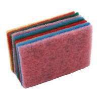 New Scouring Pads Scrub Sink Dish Cleaning Kitchen Sponge Y