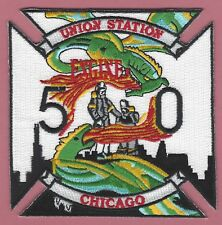 CHICAGO FIRE DEPARTMENT ENGINE COMPANY 50 PATCH