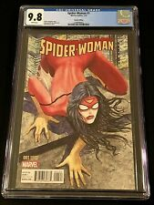 2015 Marvel Spider-Woman #1 Manara Variant Edition CGC 9.8 NM/MT WHITE PAGES