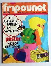 Fripounet Coeur vaillant raconte ses souvenirs Blandine Amiel Hardy 1977