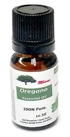 2 Bottles OREGANO essential oil 10 Ml WILD NON GMO 86% CARVACROL FROM GREECE