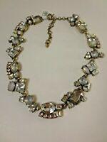 Ann Taylor LOFT WOmen's Mixed Jewels Statement Necklace NWT 54.50