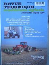 Revue Technique Tracteur Agricole Case IH Magnum  7100