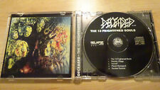 DECEASED THE 13 FRIGHTENED ORG CD 92! IMMOLATION CARCASS ENTOMBED DEATH SINISTER