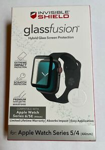 Zagg InvisibleShield GlassFusion Screen Protector Apple Watch Series 4 5 6 44mm