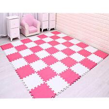 20pc Kids Playmat Baby Crawling Puzzle Mat Soft Eva Foam Playroom Flooring Tile