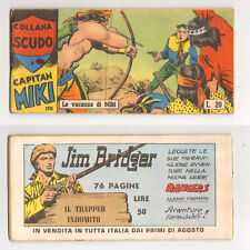 CAPITAN MIKI XVIII serie nn. 1-21 serie completa Dardo 1959 Collana Scudo