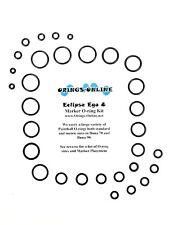 Planet Eclipse Ego 8  Paintball Marker O-ring Oring Kit 4 rebuilds - Aftermarket