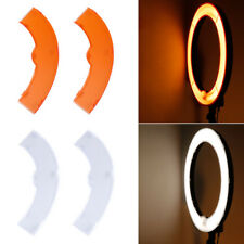 """Neewer Orange and White Color Filter Set for Neewer 14"""" 50W Ring Light"""