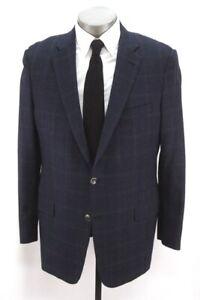 houndstooth HICKEY FREEMAN Beacon blazer jacket sport suit coat Loro Piana 44 R