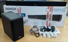 Denon DHT-S514 2-Way Soundbar System with Wireless Subwoofer - Black EX-DEMO#898