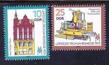 Germany DDR 1991-92 MNH 1979 Max Klinger House & Drilling 7 Milling Machine Set