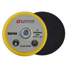 """Superior Pads RSP56 2"""" Hook & Loop Sanding Pad with 5/16""""-24 Threads"""