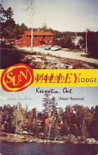 SUN VALLEY LODGE. KEEWATIN ONTARIO CANADA Your Hosts: Rose & Percy Woods 1965