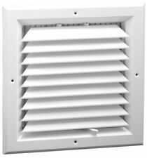 New 8 x 8 - 1-Way Extruded Aluminum Ceiling Diffuser Square - HVAC Vent Cover