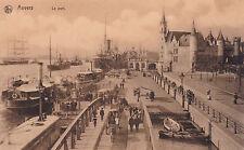 AK Anvers Antwerpen Hafen Schiffe Dampfer