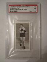 1938 JACK DOYLE BOXING CHURCHMAN PSA GRADED 7 NEAR - MINT CARD