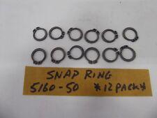 Snap Ring 5160-50 Retaining Ring (Pack of 12)