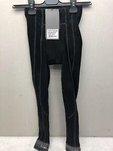 Funkier Quest S-302K-B3W Kids Winter Tights in Black (Size 8)