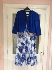 JACQUES VERT dress and jacket, Size 18