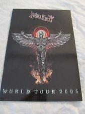 Judas Priest 2005 Angel Of Retribution Concert Tour Program Book!