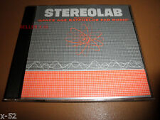STEREOLAB cd SPACE AGE Batchelor Pad Music EP TOO PURE release