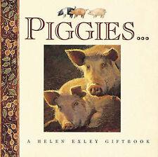 Piggies Gift Book - Helen Exley NEW Pig BOOK
