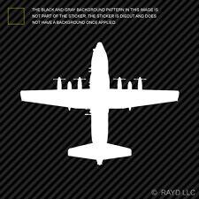 (2x) AC-130 Spectre Sticker Die Cut Spooky Stinger II Ghostrider AC-130H AC130