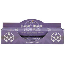 Gli elementi incenso. MAGIA PAGANA .20 Bastoncini. pagano/wicca. in scatola.