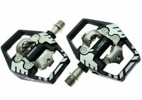 SHIMANO DEORE XT SPD PEDAL-PD-M8120 WITH SM-SH51 CLEATS 9/16 inch NEW EPDM8120