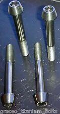4 - Titanium Taper Bolts - M8 x 60mm - Grade 5 Ti Alloy - Partially Threaded