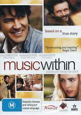 Music Within - Drama / True Story / Military / War - Ron Livingstone - NEW DVD