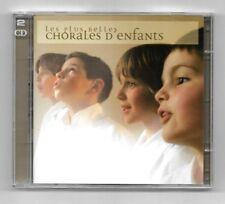 COFFRET 2 CD / LES PLUS BELLES CHORALES D'ENFANTS / 48 TITRES ANNEE 2004