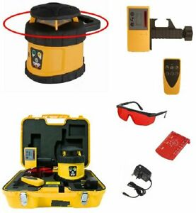 Fukuda FRE 205 Rotary Laser Level Set - Receiver, Remote Control & NiMH Battery