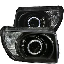 Anzo 121432 Projector Headlights Black w/ Halo LED For Honda Element 03-06