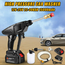 25V 15000mah Wireless High Pressure Car Wash Water Spay Gun Foam Washing Machine