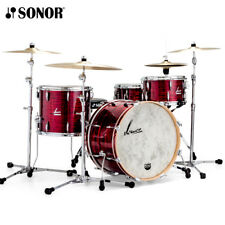 """Sonor Vintage Series VT-16-322 22"""" 3PC Drum Shell Pack Red Oyster VT-322NMCVRO"""
