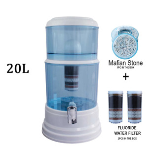 Aimex Water Purifier 8 Stage Fluoride Filter Maifan Stone Dispenser 2 Filters